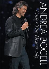 Cover Andrea Bocelli - Under The Dessert Sky [DVD]